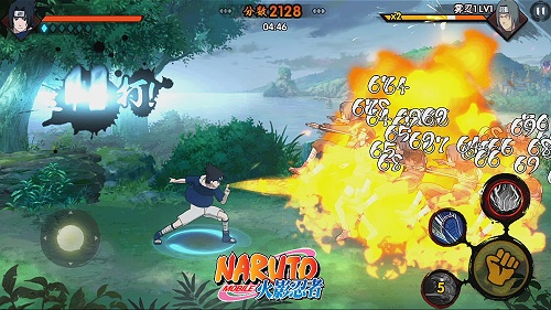 火影忍者(正版格斗手游)游戏截图