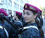 各国阅兵式女兵颜值比拼