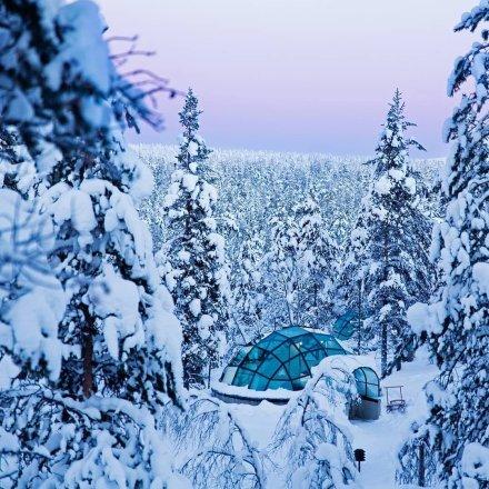 芬兰冰屋酒店 可以看极光的酒店