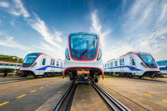 驶出国门!中国轨道交通装备首次服务墨西哥
