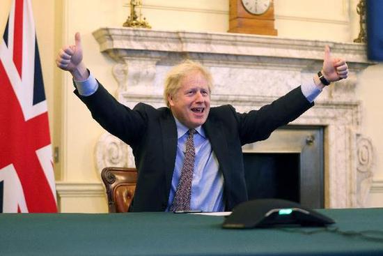 """一纸""""分手""""协议 究竟是英欧博弈的终点还是起点?"""