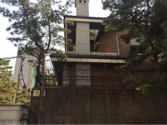 2017年修缮完成前的朴槿惠私宅
