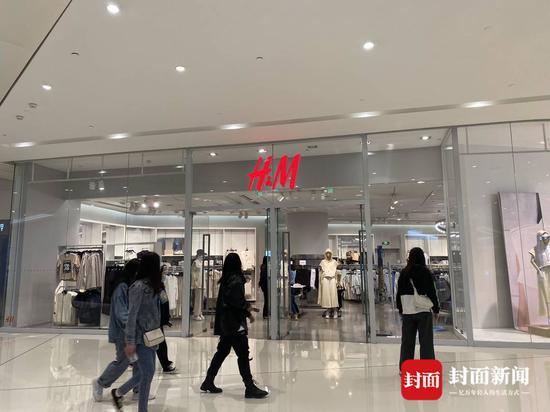 成都H&M线下实体店