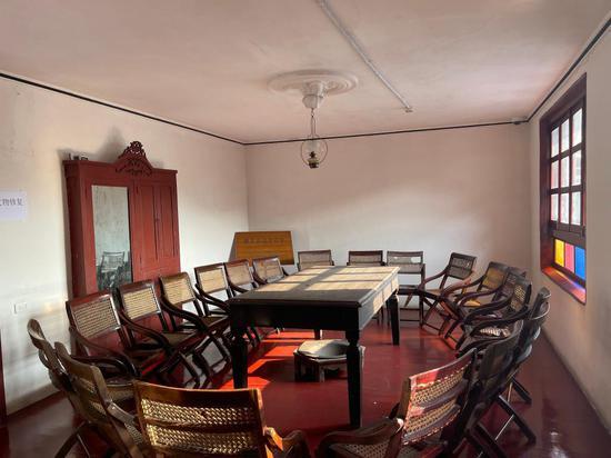 这是遵义会议召开的房间(2月24日摄)。新华社记者刘续摄