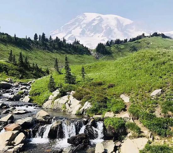 西雅图郊区优越的自然环境,photo by TeeSeanC