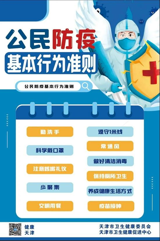 8月15日18時至16日18時天津新增1例境外輸入確診病例