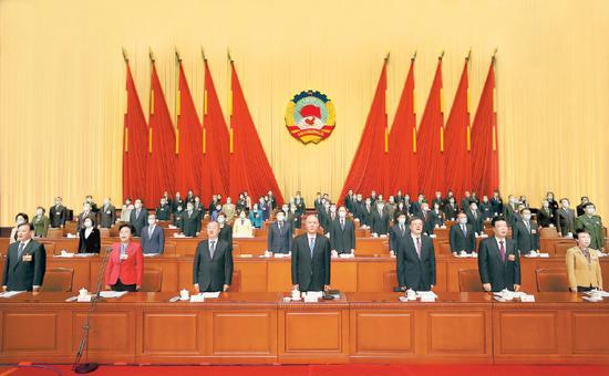 北京市政协十三届四次会议开幕 吉林作工作报告