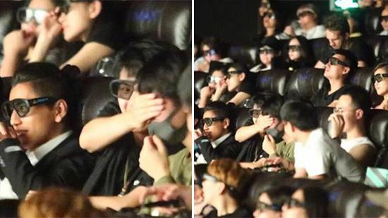 刘昊然捂着王俊凯眼睛不让看吻戏 网友说:做得好