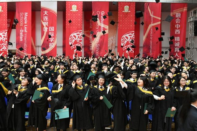 大連楓葉國際高中舉辦第二十一屆畢業典禮