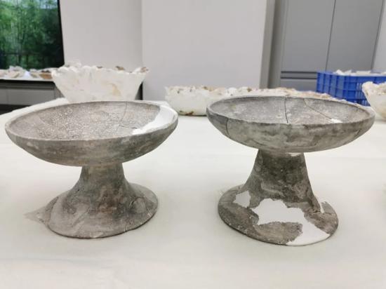 战国时期陶豆。来源:广州市文物考古研究院的微信公众号