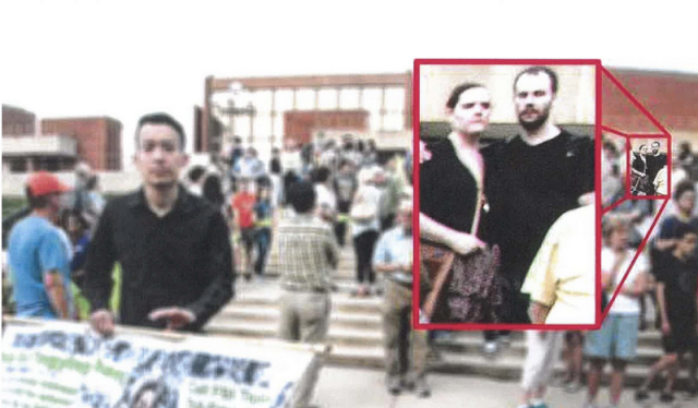 克里斯滕森和女友曾出現在為章瑩穎祈福的活動上 圖自社交媒體