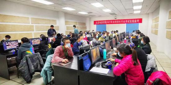 北影艺考初试线上进行 逾5万人报考