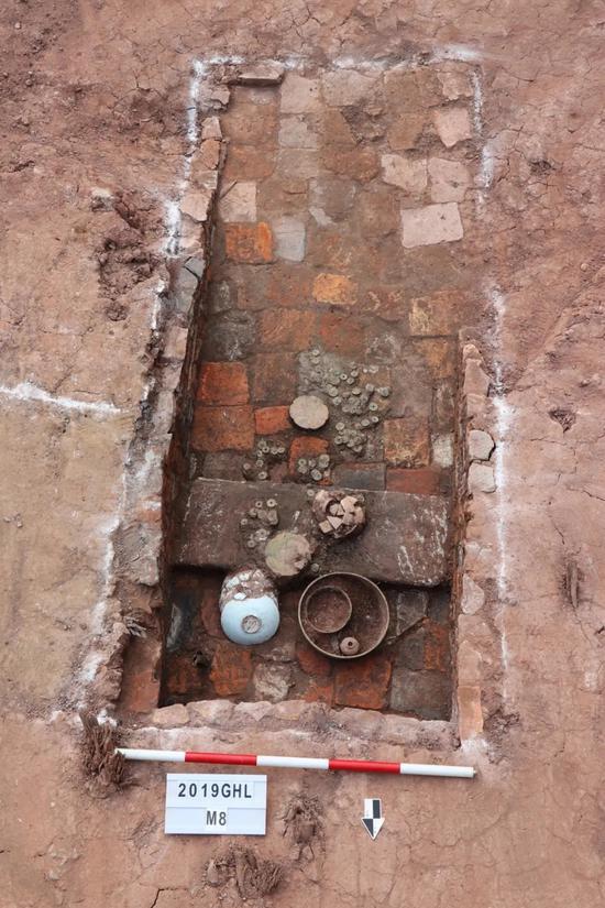 宋代墓葬M8。来源:广州市文物考古研究院的微信公众号