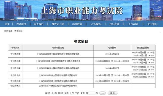 高顿教育:2021年上海经济师中级考试报名时间