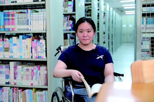 轮椅上的高考追梦人:没有学习我活着就跟死了一般