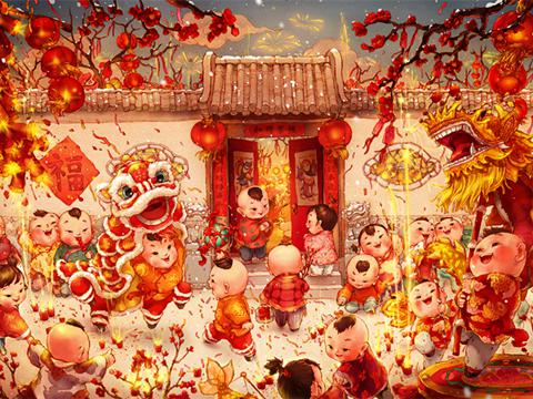 2012年春节是哪天_春节•元宵诗词英译 这样聊年才地道|元宵|春节|诗词英译_新浪 ...