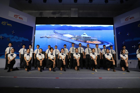 上海青浦世外六年级学生表演首部北斗主题戏剧