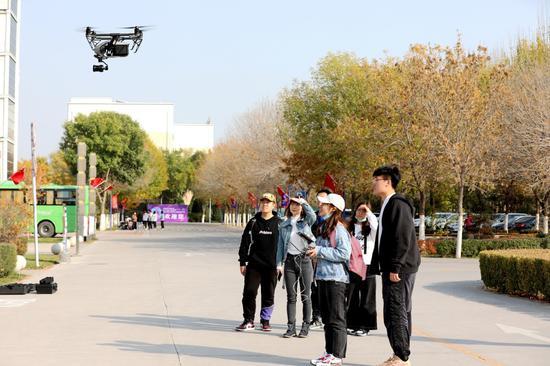 全国大学生无人机航拍竞赛银川邀请赛启幕