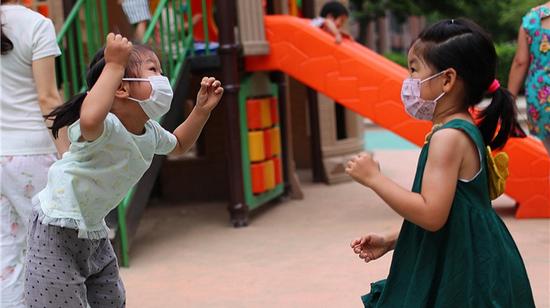 朝阳今年将增7000个学前学位 推进辖区幼儿园提质降费