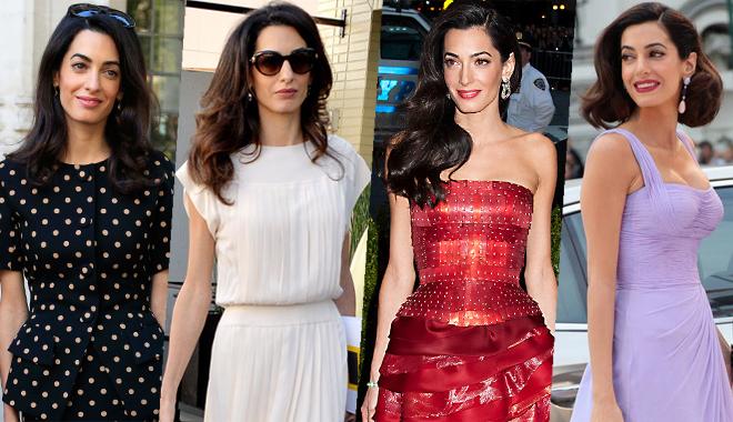 Amal Clooney担任met gala评委 她的衣品担得起