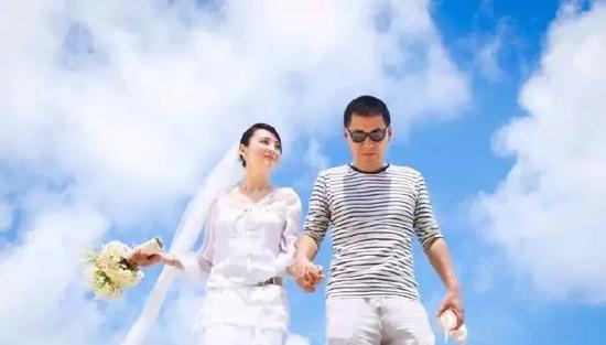 婚后8周年补拍的婚纱