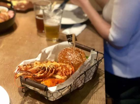 软壳蟹汉堡