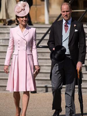 威廉王子夫妇出席游园会
