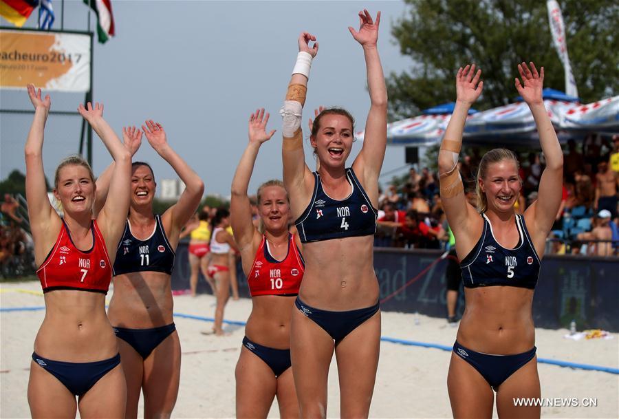 Norwegian bikini team