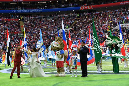 Russia kicks off FIFA World Cup with a promise to 'live it ...
