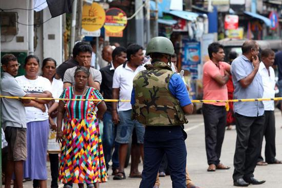 Aftermath of Sri Lanka blasts in Colombo