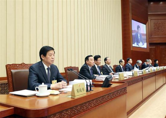Top legislature starts bimonthly session - China News ...