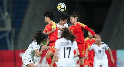 China beat Jordan 8-1 in AFC Women's Asian Cup 2018