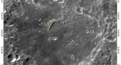 Chang'e-4 landing site named