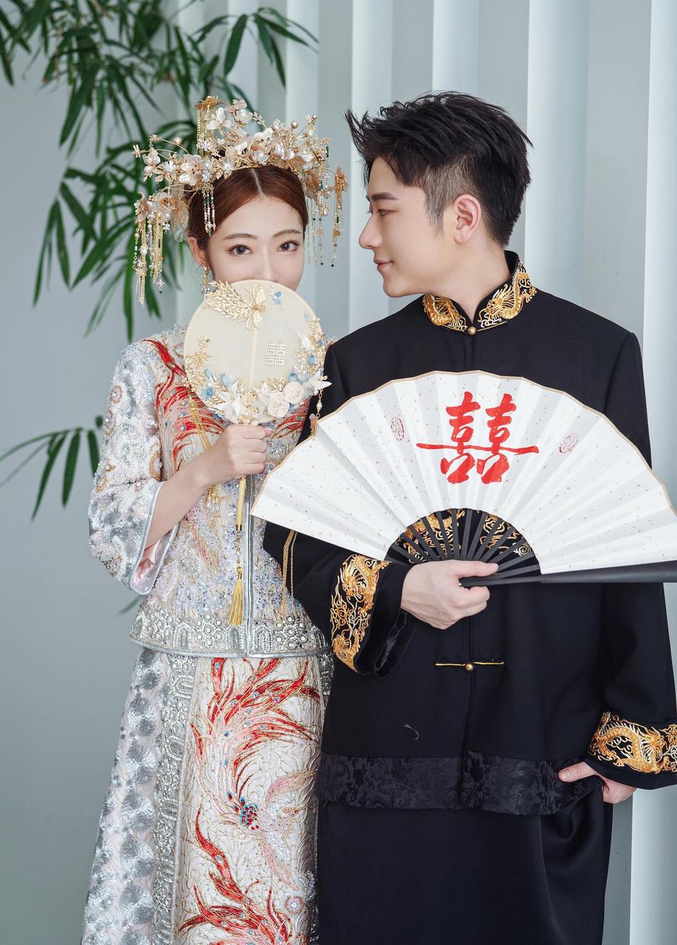 组图:95后说唱歌手王以太今日举行婚礼 现场图曝光满脸幸福!