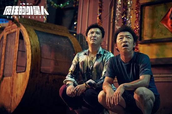 黄渤、沈腾领衔电影《疯狂的外星人》 图片来源:视觉中国