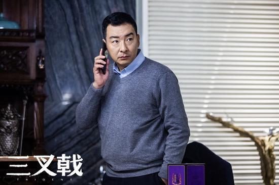 """郝平饰演""""大喷子""""潘江海"""