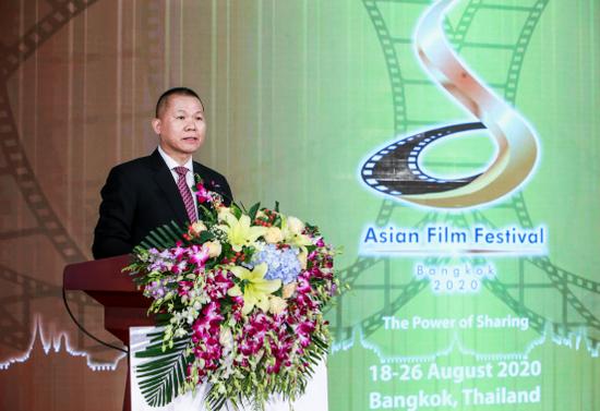 泰国文化部常务秘书长Mr.Kitsayapong Siri老师