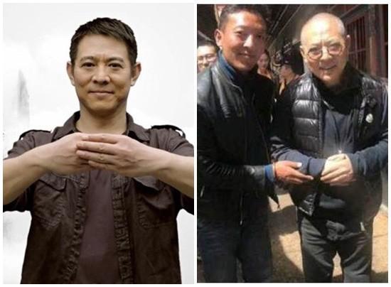 李连杰日前被曝衰老如80岁老翁