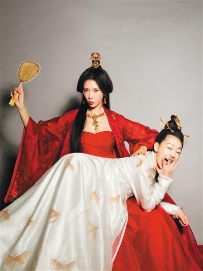"""小S和林志玲共同主演了《""""吃吃""""的爱》。"""