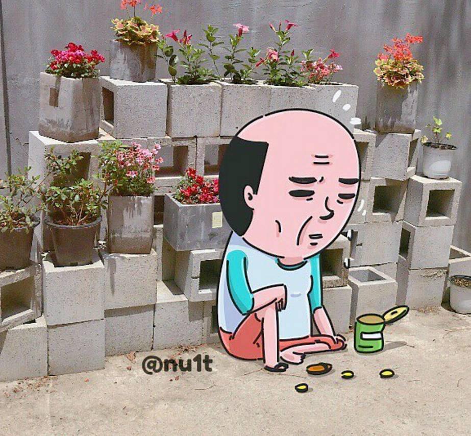 红遍韩国的猥琐小贱贱,顶着个秃头却能吸粉无数!