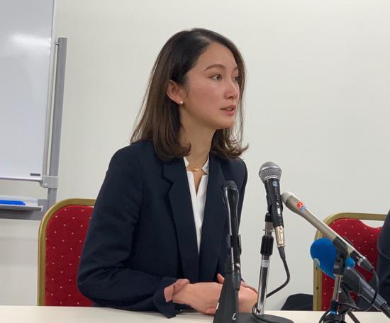 17日,伊藤召开宣判前的记者会(外交媒体 图)