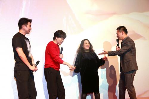 电影《一生有你》全国首映仪式,在广州拉开帷幕。