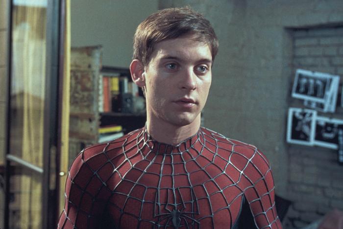 托比·马奎尔主演了《蜘蛛侠》三部曲