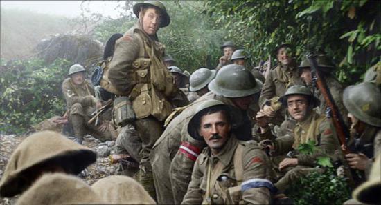 影片中的老兵是幸存者更是睹证者