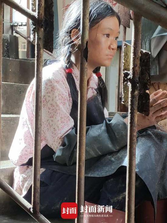 徐砡在《守岛人》片场