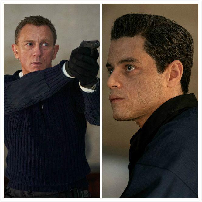 """007这次最大的对手是""""牙叔""""拉米·马雷克饰演的大逆派萨芬。"""