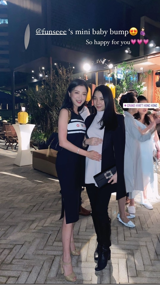 陈冠希前女友杨永晴怀孕八个月