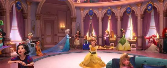 公主们都超Q的!