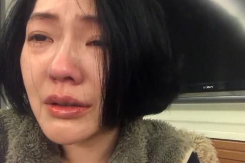 小S还自拍一段落泪唱歌的影片