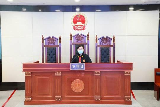 庭审现场。杭州互联网法院供图